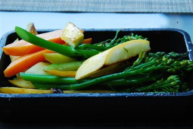 Sauteed Seasonal Vegetables