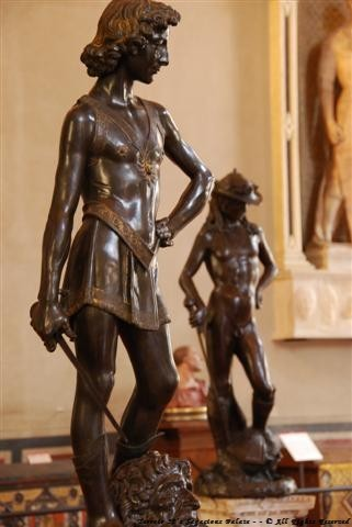 Verrocchio's David 1475 & Donatello's David 1440