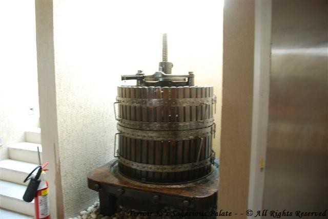 Surrau - Wine Press