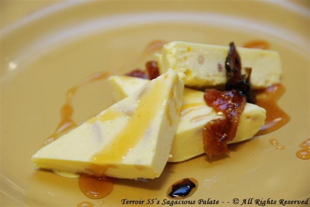 Dessert with Truffle