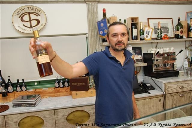 Luca with Vinsanto