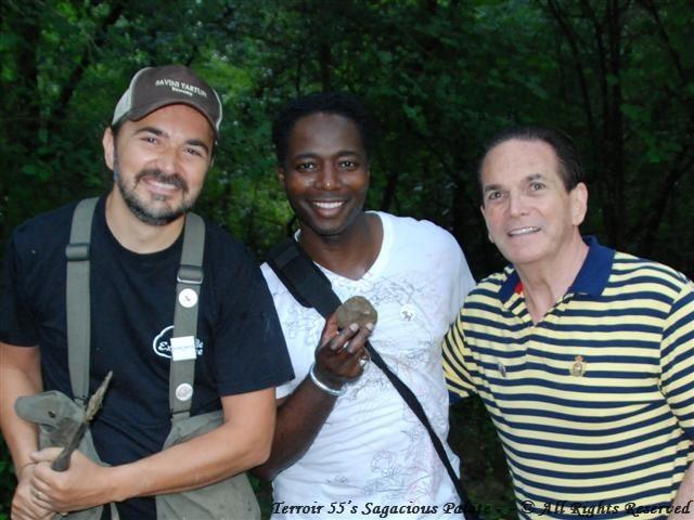 With Luca & Tony