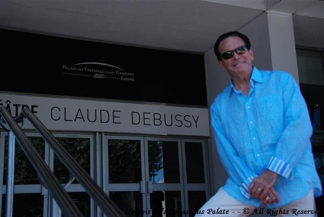 Tony at Palais des Festivals et des Congrès de Cannes