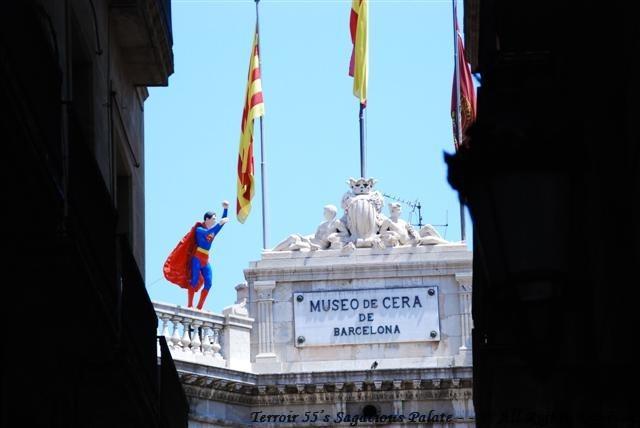 Superman in Barcelona