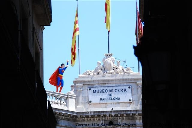 Superman in Barcelona