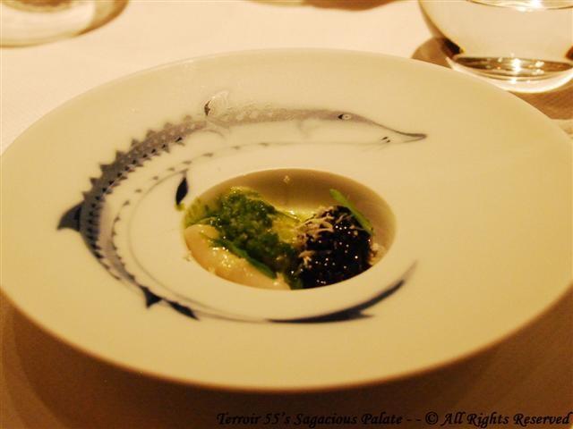 Black River Siberian Caviar (Maine Scallop, Horseradish & Sorrel)