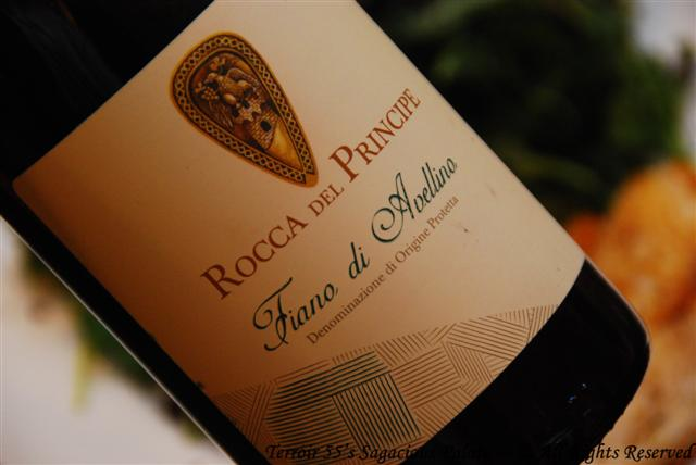 """2012 Rocca del Principe """"Fiano di Avellino"""""""