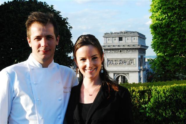Chef Etienne & Ms. Auriane MOREAU