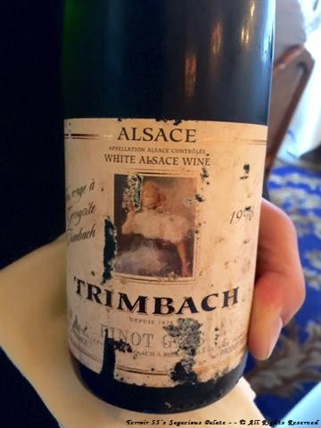 "1996 Trimbach ""Cuvee Georgette"" Pinot Gris"