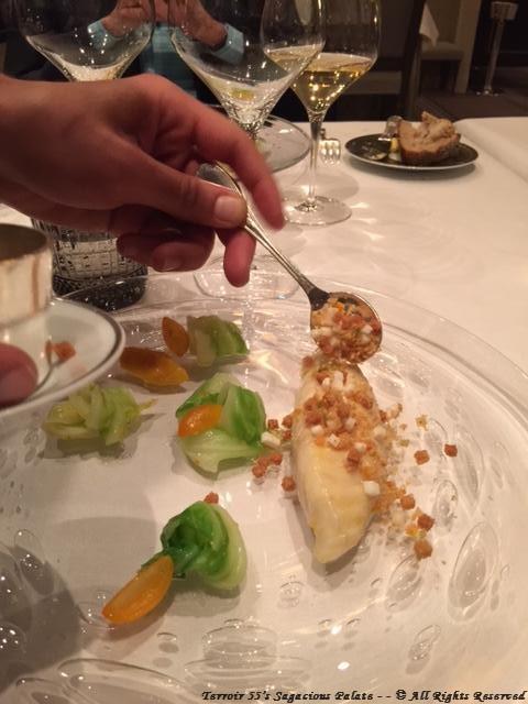 Roasted John Dory, cabbage and citrus emulsion
