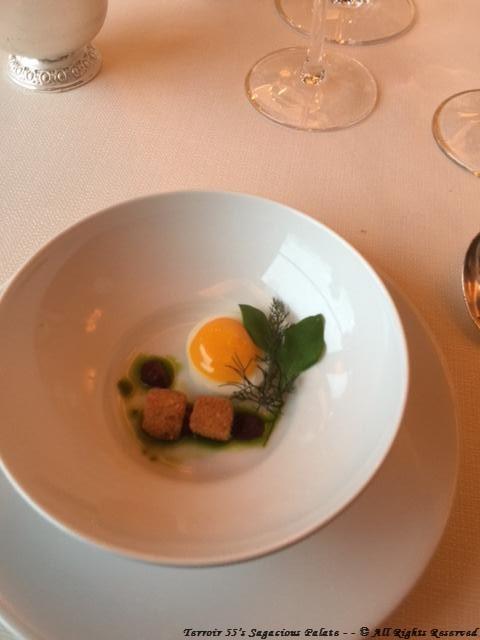 Amuse-Bouche (Quail Egg)