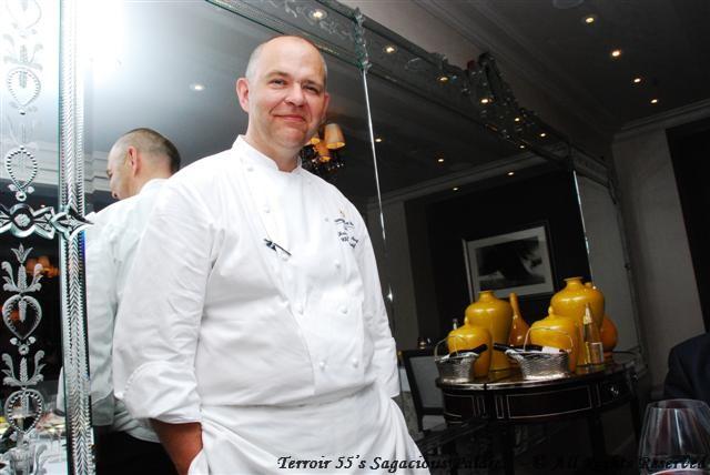 Chef Christophe Moret