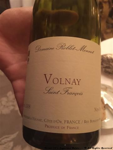 2008 Volnay - Domaine Roblet-Monnot