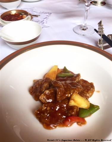 Porce a la sauce aigre-douce - - Riz sauté façon Yangzhou