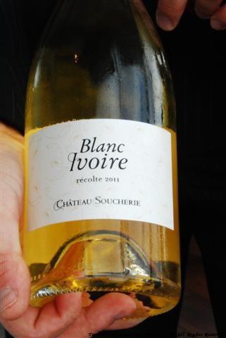 2011 Blanc Ivoire - Château Soucherie, Anjou