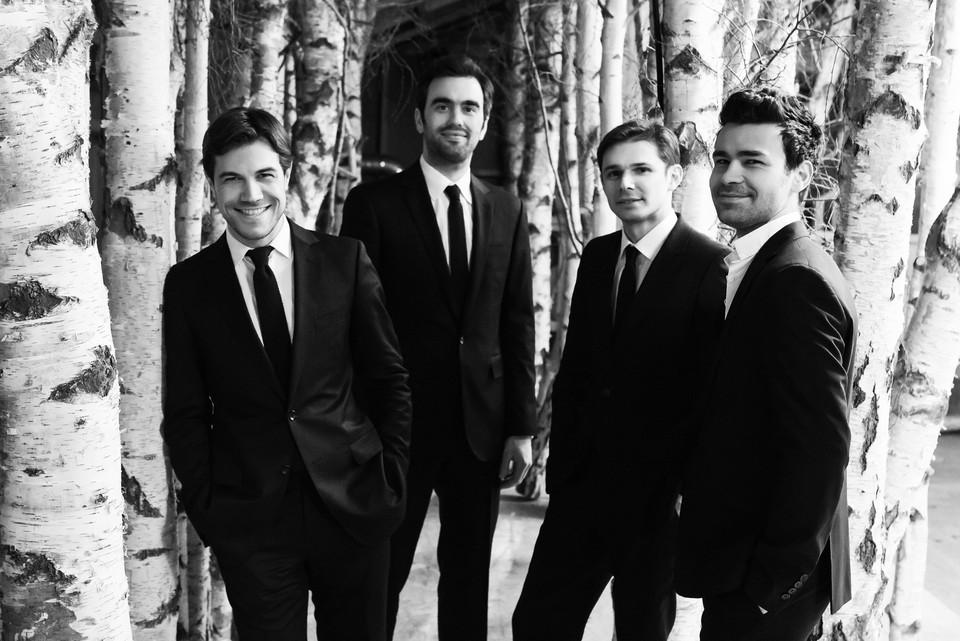 Modigliani Quartet - François Kieffer, Laurent Marfaing, Loic Rio and Philippe Bernhard