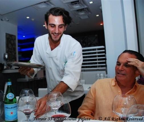 Eugenio Delivering Desserts
