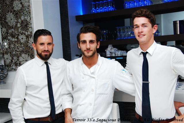 Gianluca, Eugenio and Mitch
