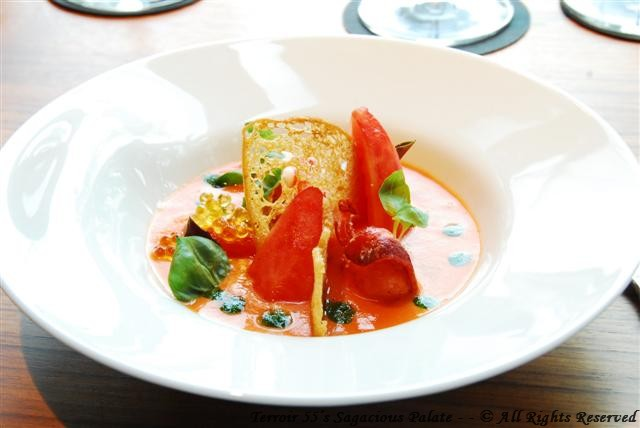 Tomato and Lobster Soup