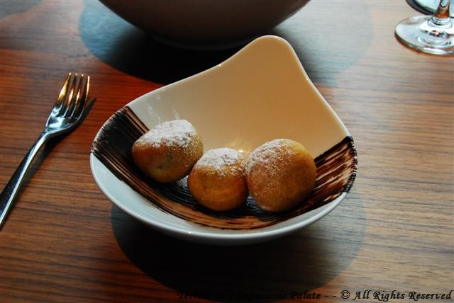 """Tio Nelo"" Hot Chocolate Fritters"