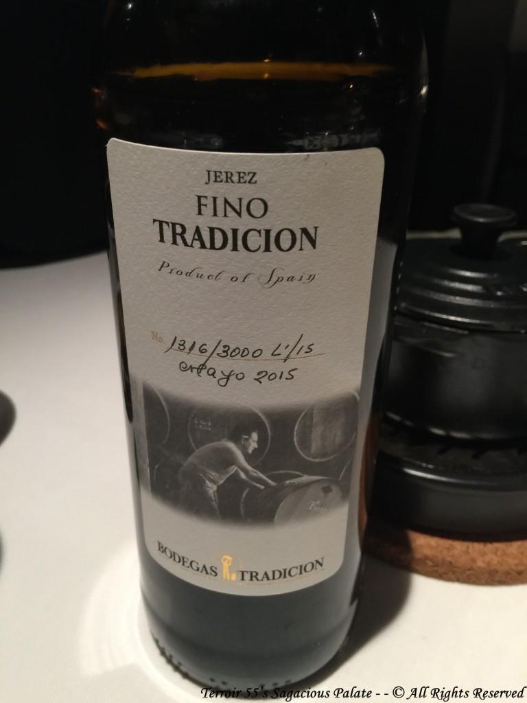 Fino Bodegas Tradición, D.O. Jerez