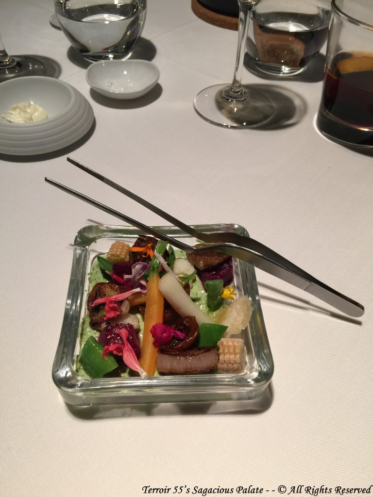 VEGETABLES - - Raw, Pickled, and Grilled / Micro Greens