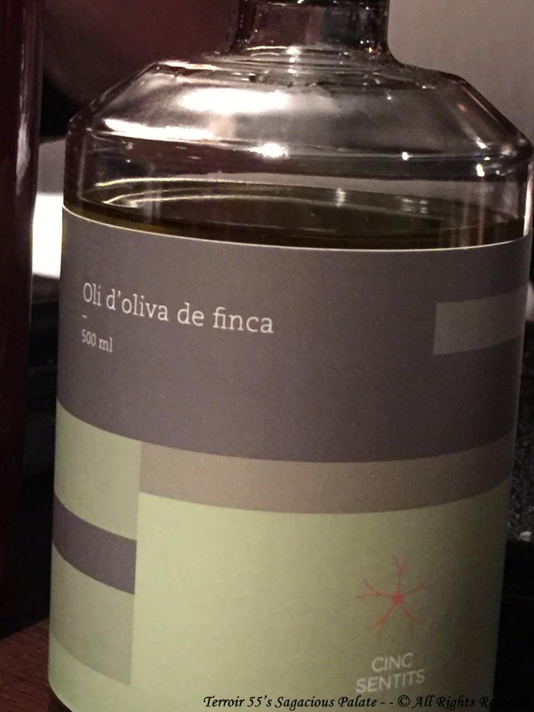 Cinc Sentits - Olive Oil