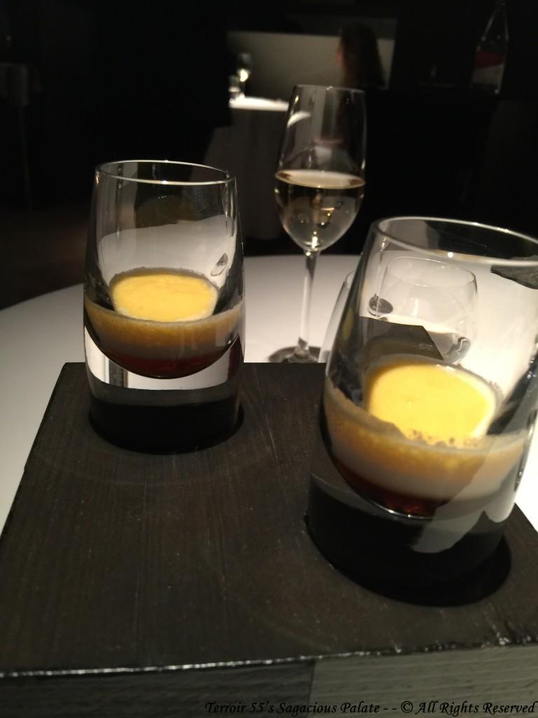 Maple syrup, cream, cava sabayon and sea salt