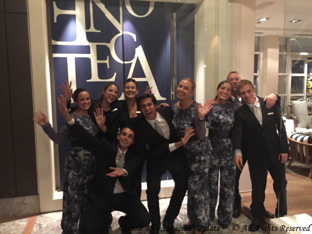 The Amazing Team at Enoteca