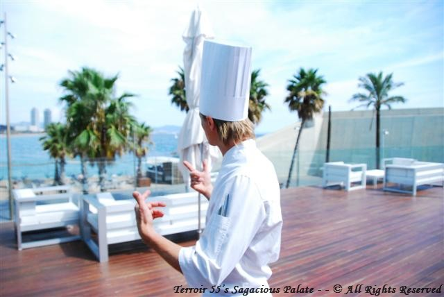 Chef Esko - Panoramic view of the Mediterranean sea