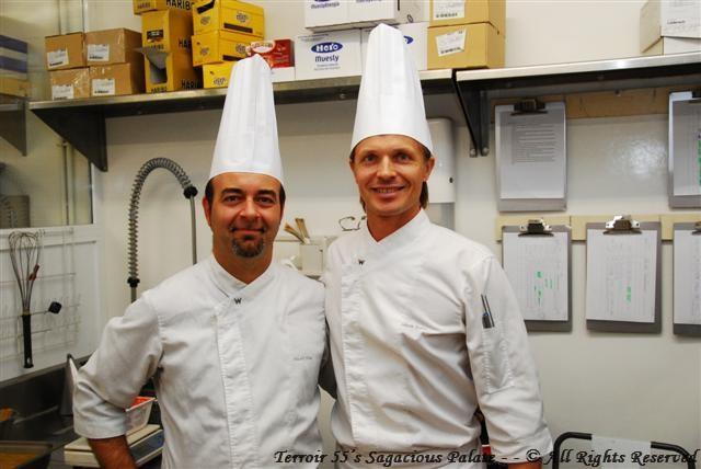 Chef Albert Vidal Beumala & Chef Esko - W