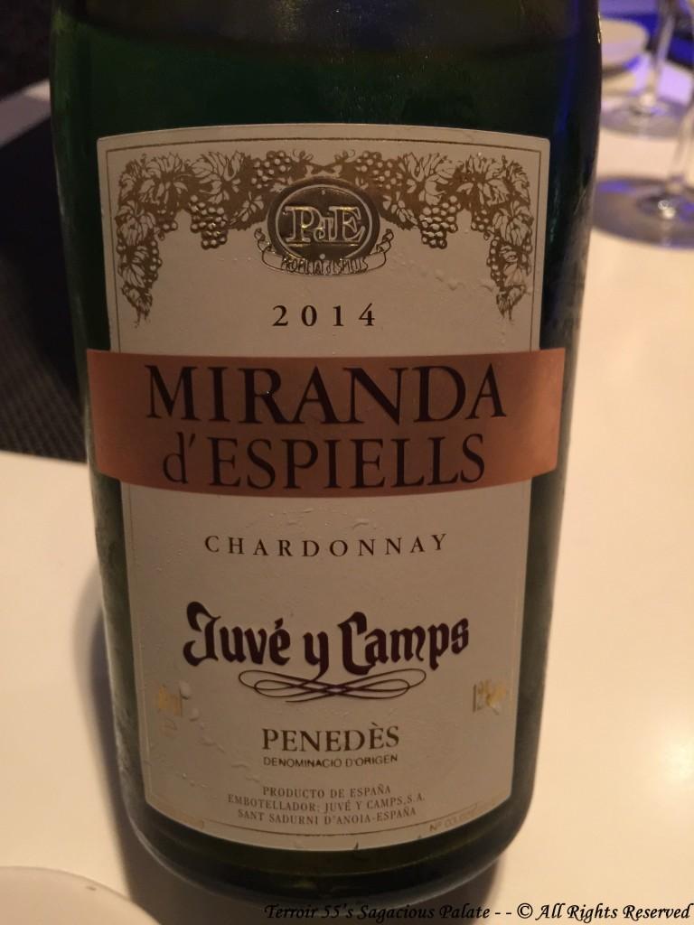 2014 Miranda d'Espiells Chardonnay - Penedès
