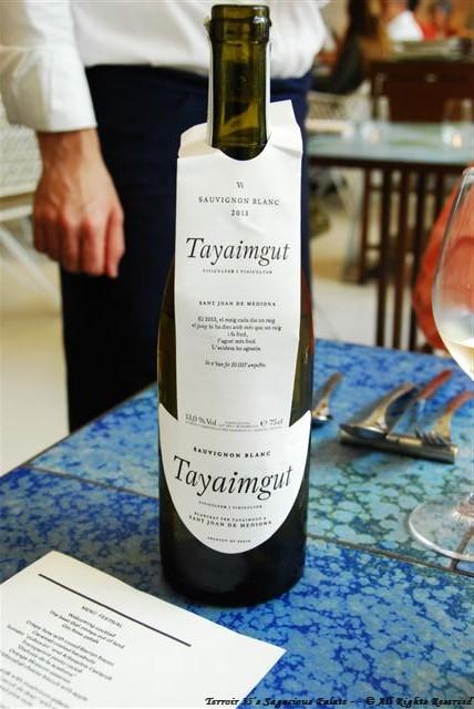 2013 Tayaimut Sauvignon Blanc – Sant Joan de Mediona