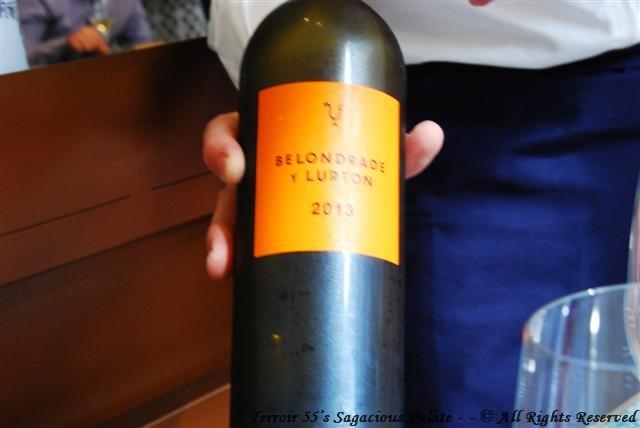 """2013 Belondrade y Lurton """"Verdejo"""" Rueda, Spain"""