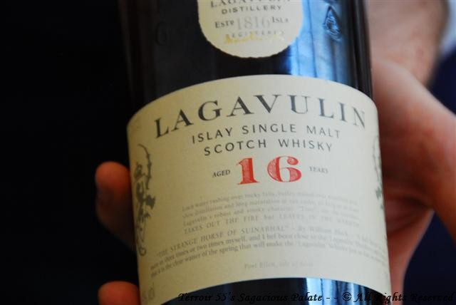 "Lagavulin ""16"" Islay Single Malt Scotch Whisky"