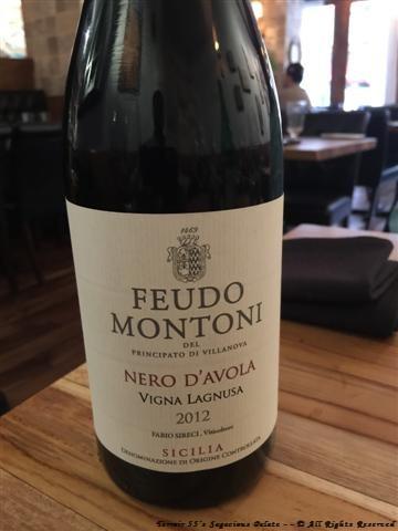 2012 Feudo Montoni Nero D'Avola