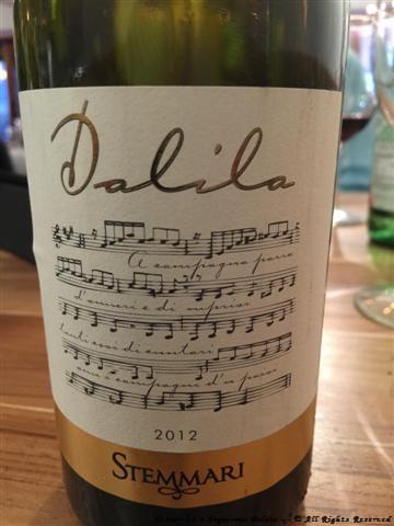 2012 Feudo Arancio Stemmari Dalila Sicilia (80% Grillo, 20% Viognier)