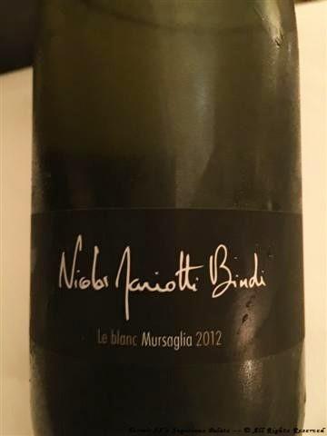 "2012 Nicolas Mariotti Bindi ""Mursaglia"""