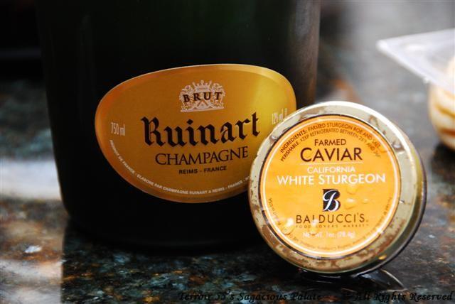 Ruinart & Caviar