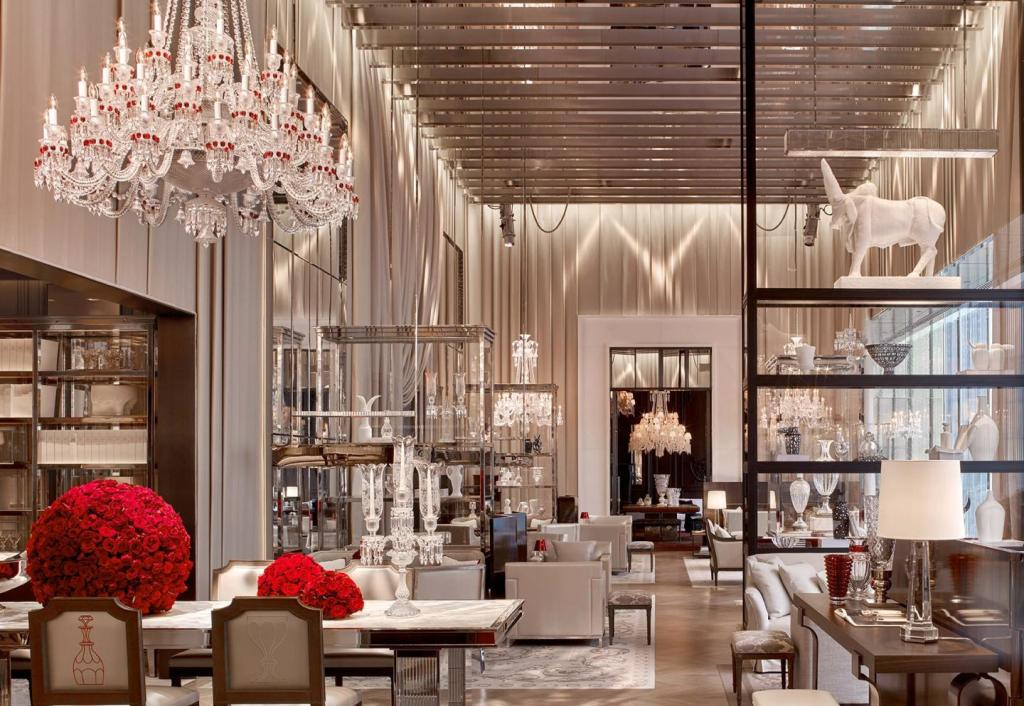 ©Baccarat Hotel NYC – Courtesy of Baccarat Hotel NYC - The Grand Salon