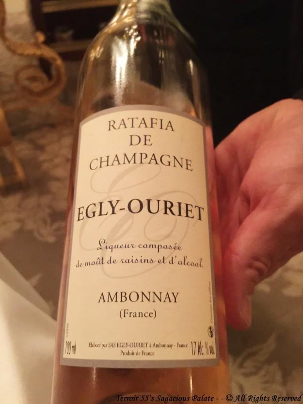 Ratafia de Champagne - Egly-Ouriet
