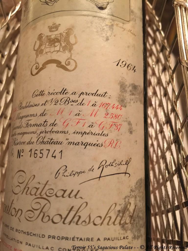 1964 Château Mouton Rothschild