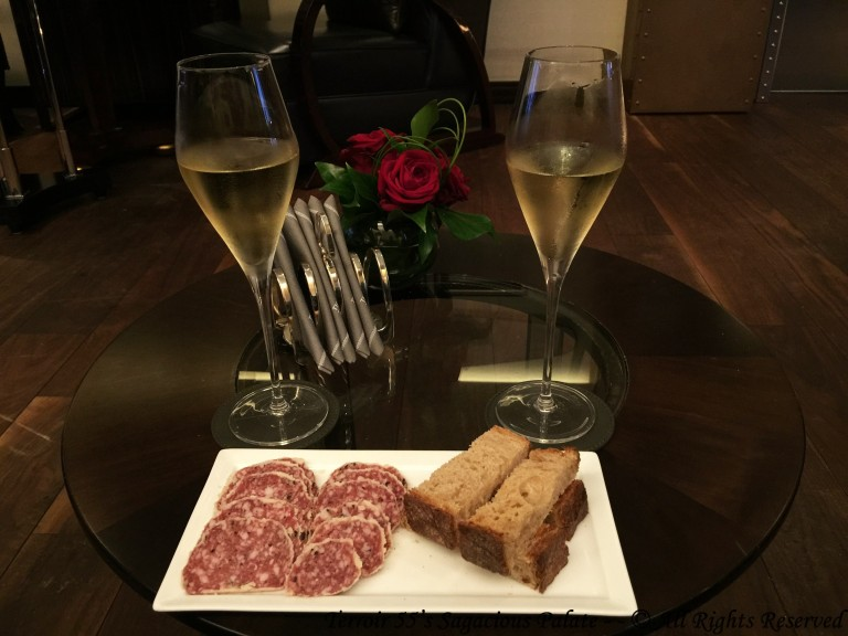Black Truffle Sausage with Champagne