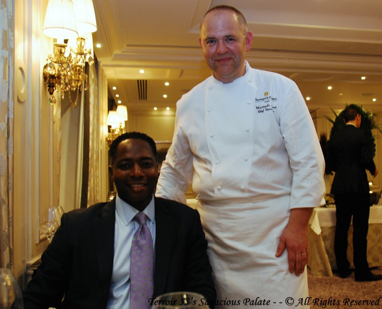 With Chef Moret