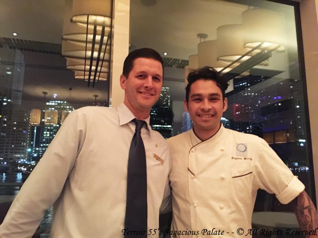 Caleb & Chef Benjamin