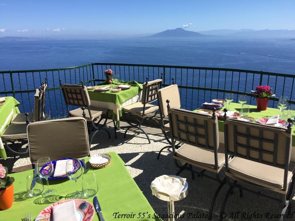 Caesar Augustus - Terrace for Lunch