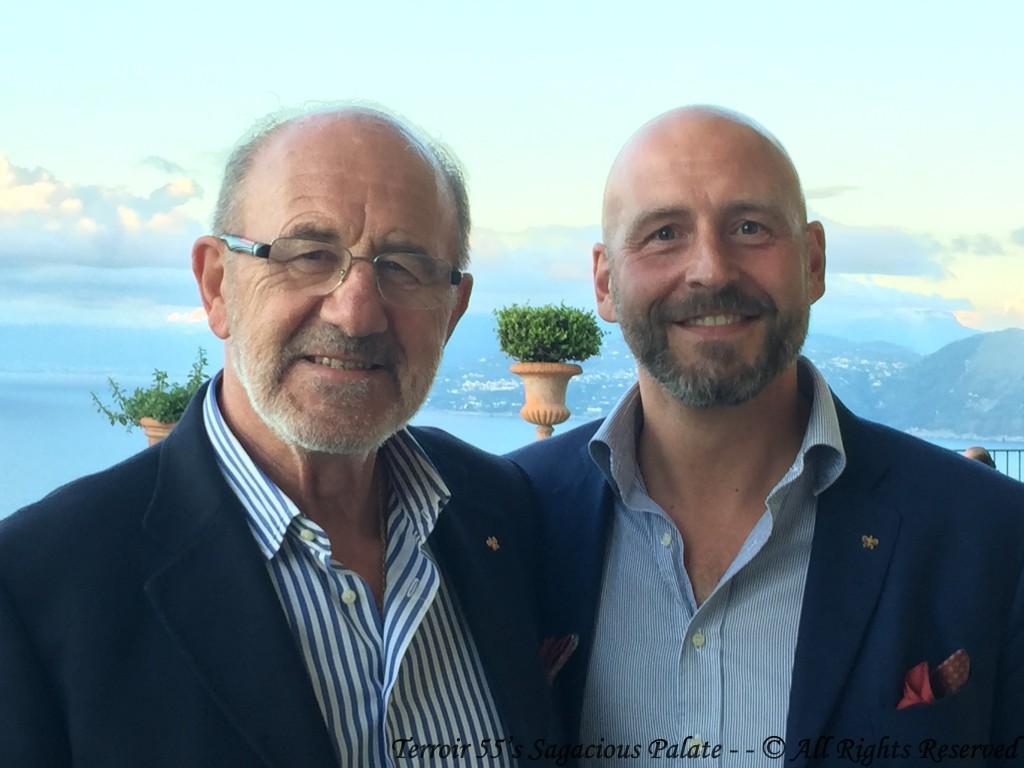 Dr. Paolo Signorini and Francesco Signorini