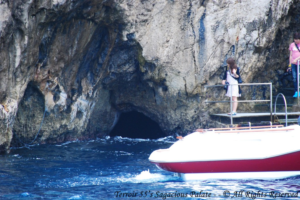 Cruising The Mediterranean - Blue Grotto