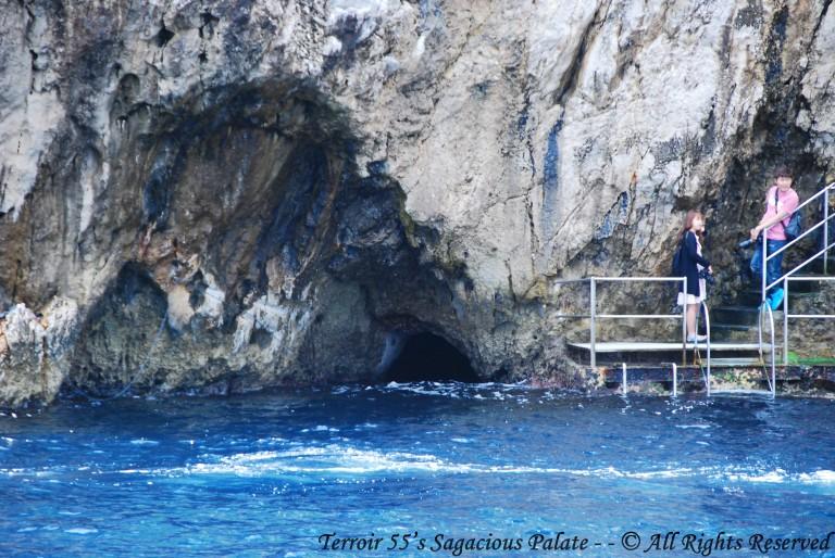 Cruising The Mediterranean - Blue Grotto