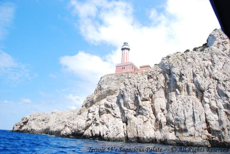 Cruising The Mediterranean - Punta Carena Lighthouse